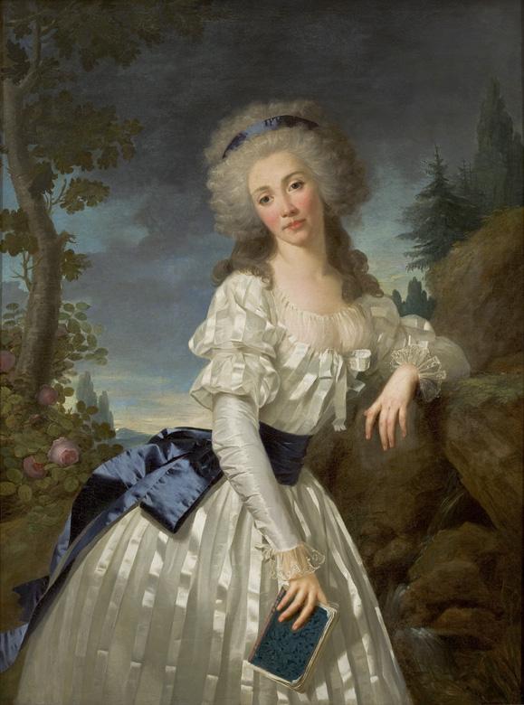 18th century art   portrait of