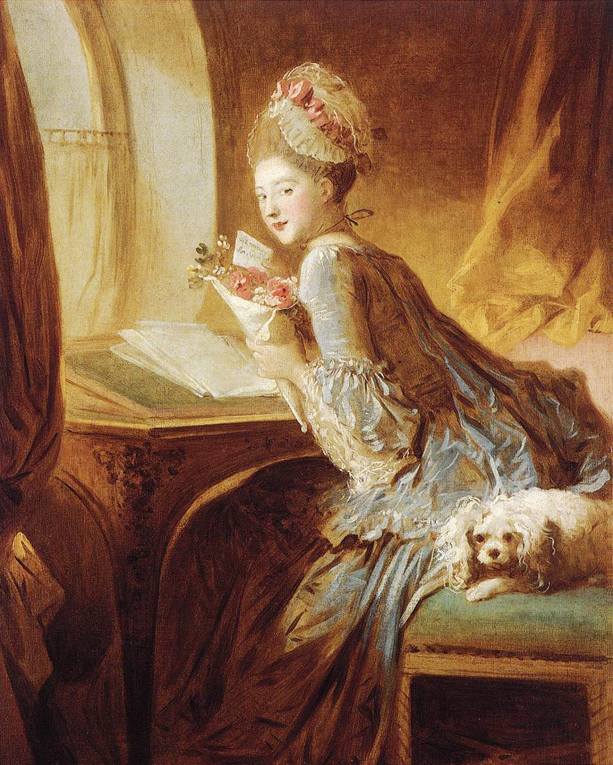 The Love Letter – Jean-Honore Fragonard