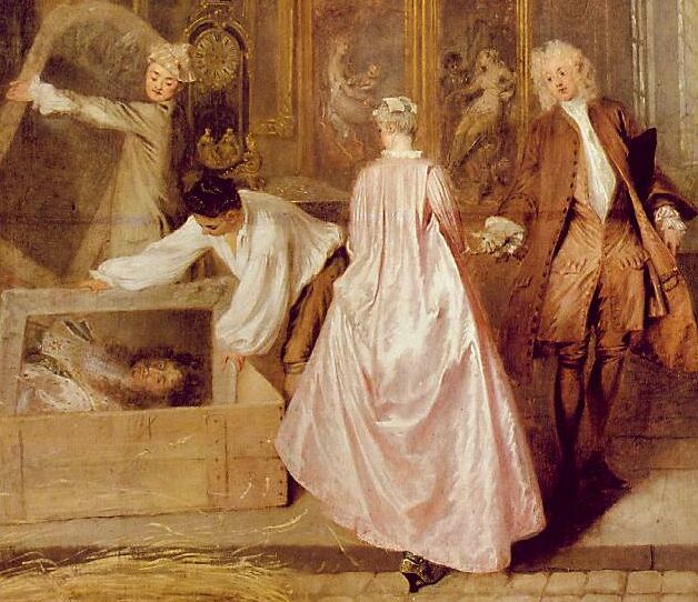 Oh, where art thou from Watteau? | Making History Tart & Titillating