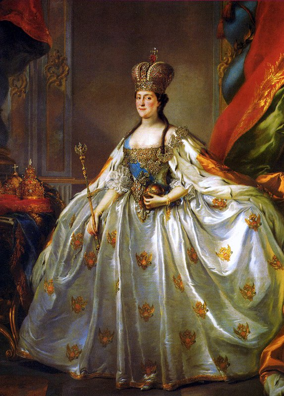 Catherine the great fashion