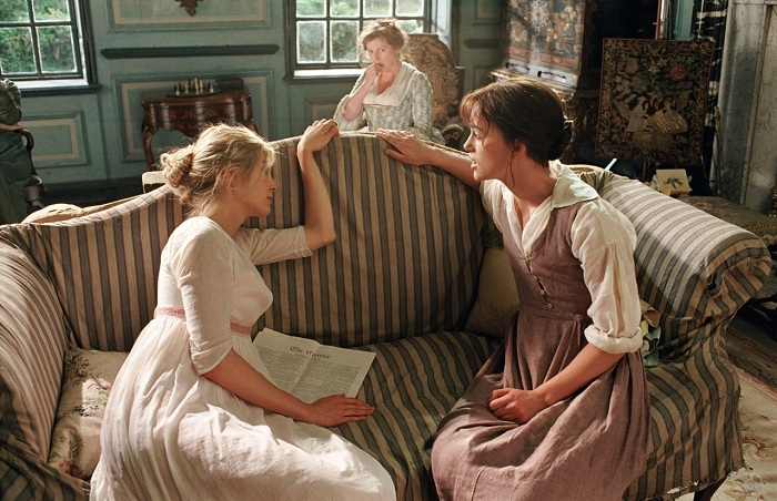 Image result for pride and prejudice 2005 lizzy and jane
