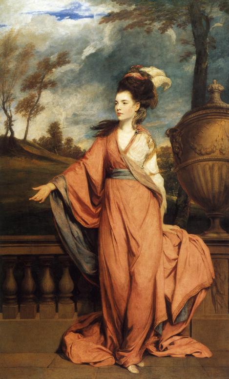 Jane Fleming, later Countess of Harrington. 1778-79 | Sir Joshua Reynolds