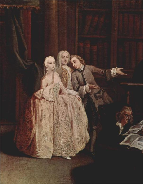 Visit to a Library, 1760 | Pietro Longhi.