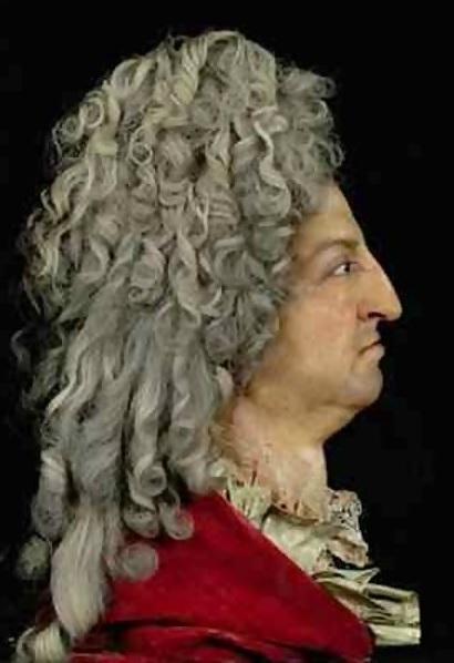 Louis-XIV by Antoine Benoist 1715