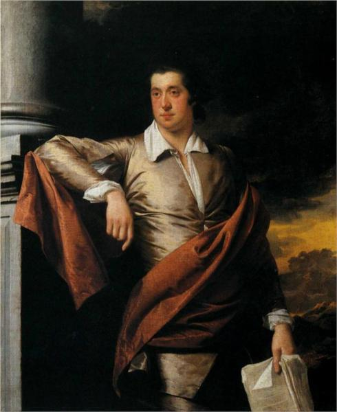 Thomas Day by Joseph Wright 1770