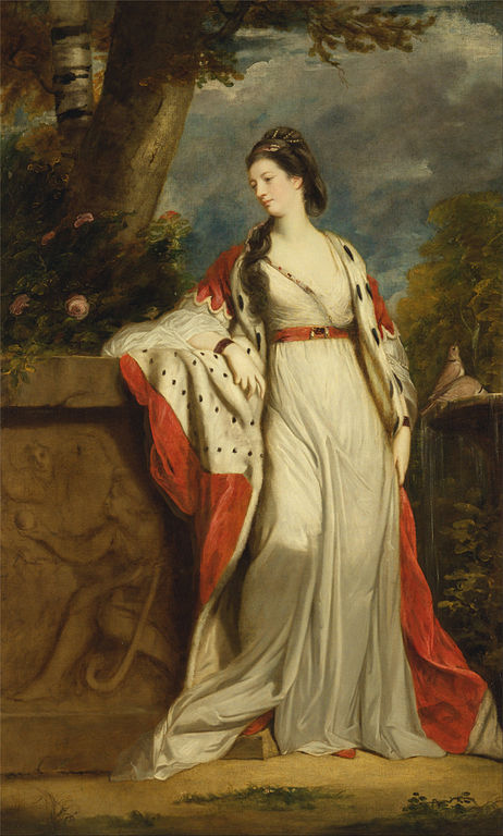 Elizabeth Gunning by Sir Joshua Reynolds