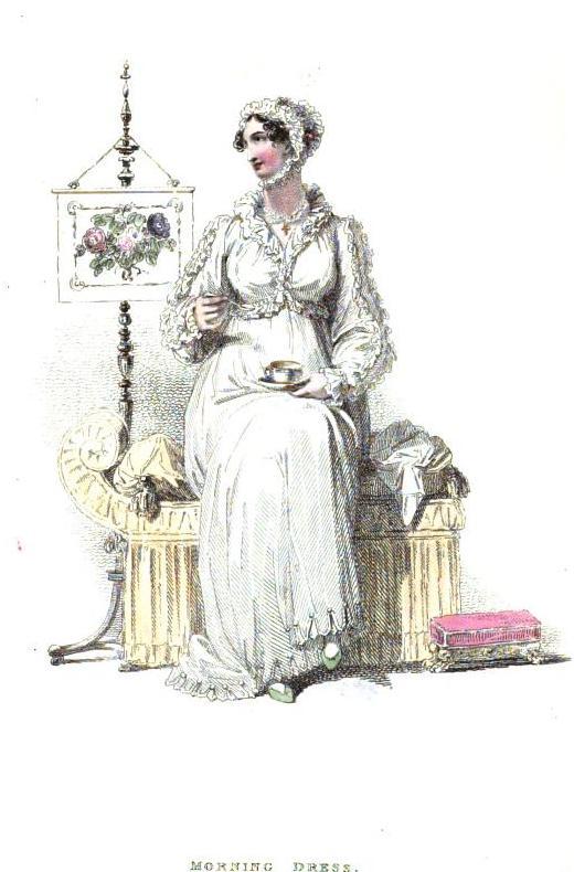 morning dress April 1814