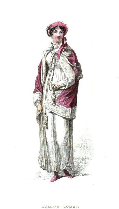 walking dress April 1814
