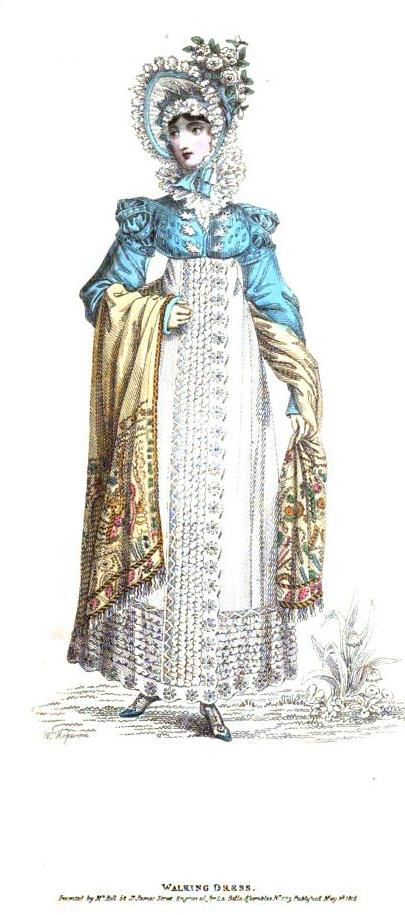 walking dress may 1818