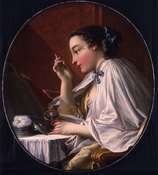 Une Dame à sa Toilette by Francois Boucher