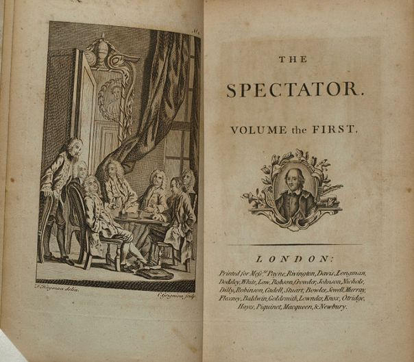 The Spectator from a 1788 Edition