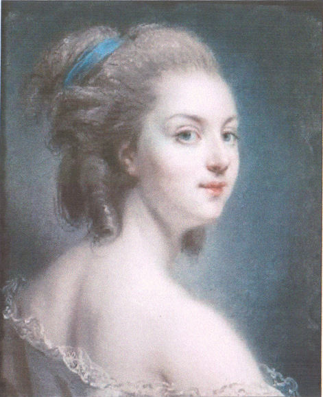 Rosalie Duthe by Claude Jean Baptiste Houin
