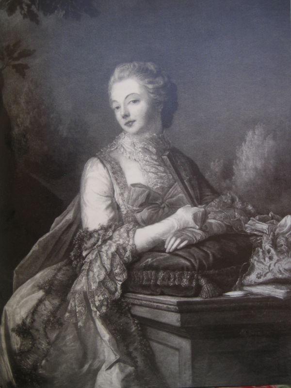 Rosalie Duthe by Drouais 1768