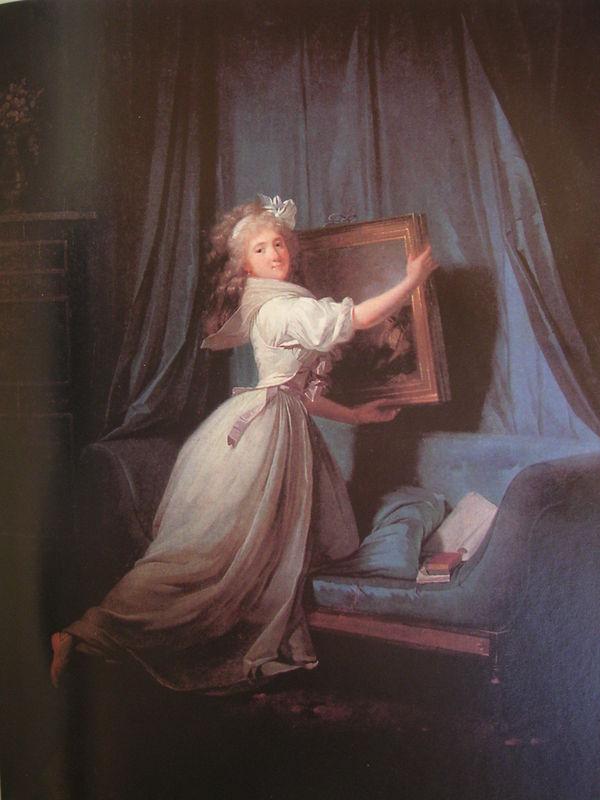 Rosalie Duthe by Henri Pierre Danloux 1792