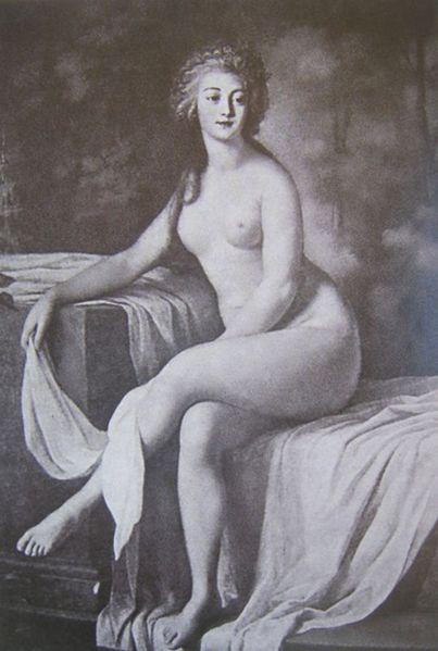 Rosalie Duthé by Lie Louis Périn-Salbreux