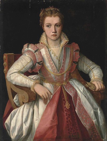 Portrait of a Lady by a follower of  Francesco Salviati del Rossi