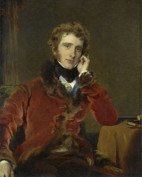 George Agar-Ellis, 1st Lord Dover, by Thomas Lawrence (1823)