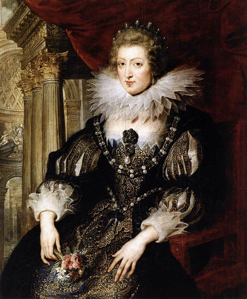 Anne of Austria by Peter Paul Rubens
