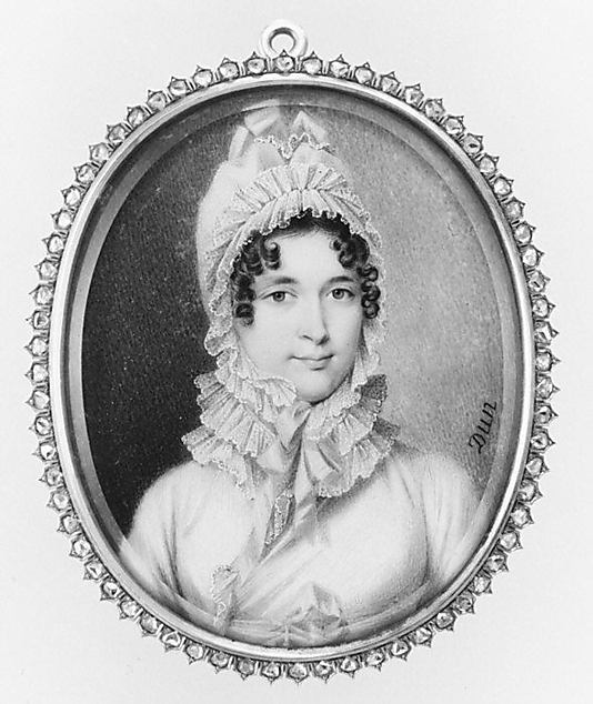 Portrait of a Woman, Said to Be Madame Récamier by Nicolas François Dun (1812-14) (c) Met Museum