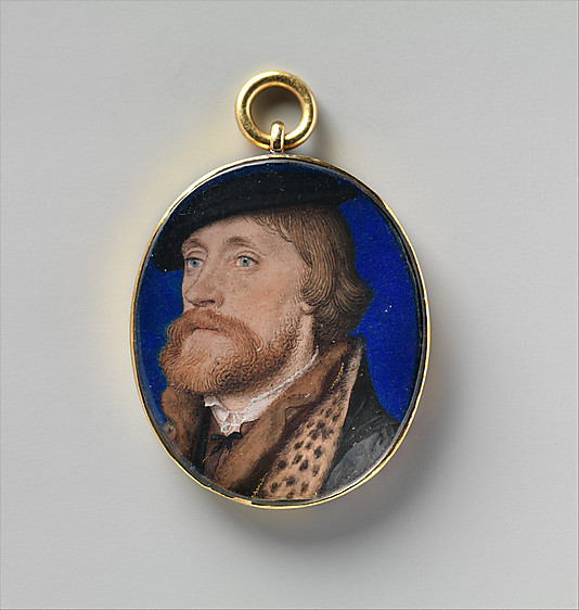Thomas Wriothesley, First Earl of Southampton by Hans Holbein the Younger (1535) (c) Met Museum