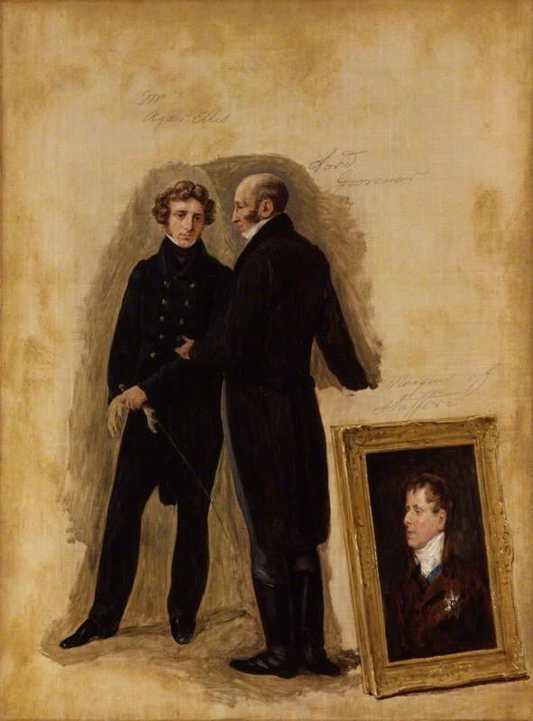 George Agar-Ellis, Baron Dover