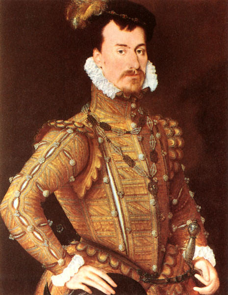 Robert Dudley, Earl of Leicester, Attributed to Steven van der Meulen (1560-65)
