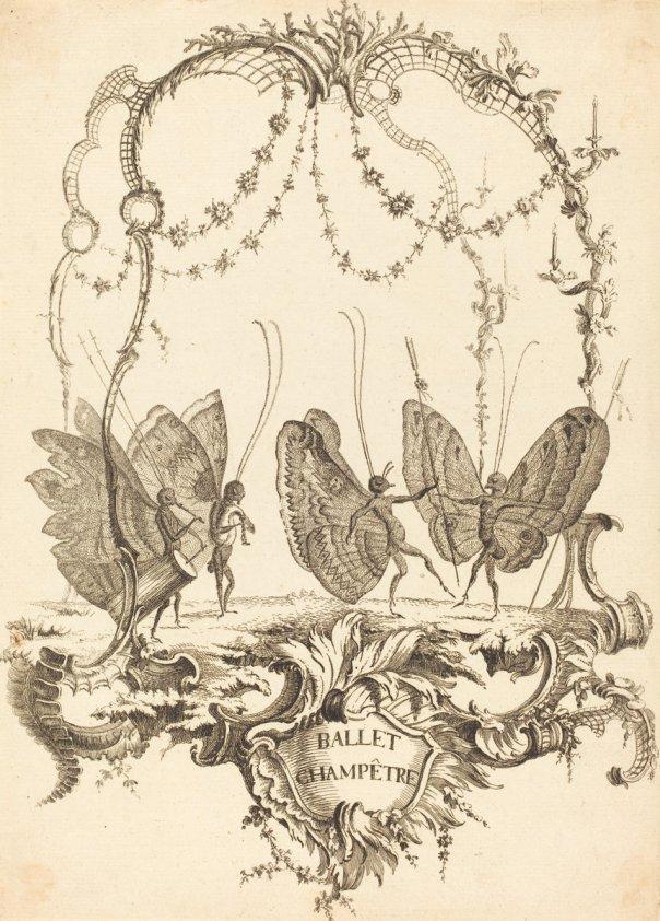 Ballet Champêtre by Charles Germain de Saint-Aubin