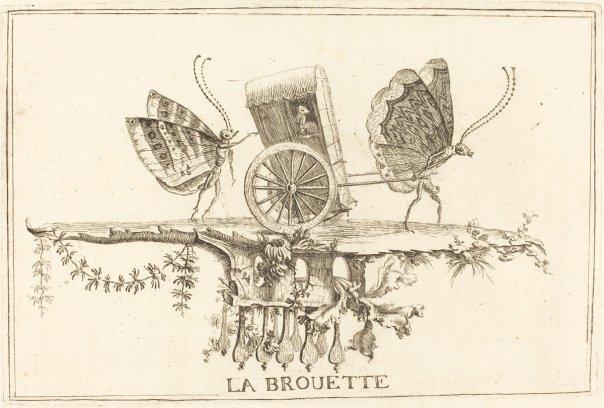 La Brouette by Charles Germain de Saint-Aubin