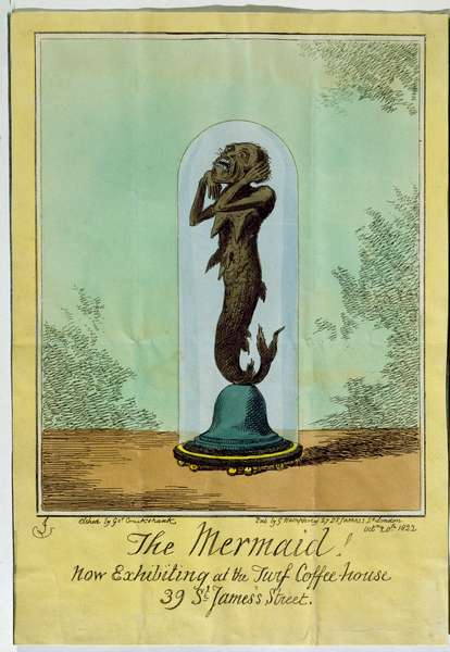 Fiji Mermaid, 1822