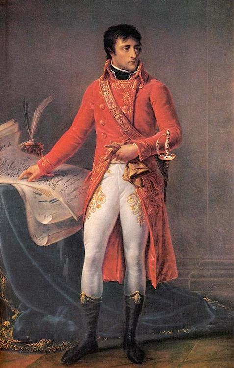 Napoleon as First Consul by Jean-Antoine Gros (1802)
